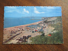 "VINTAGE RP COLOUR POSTCARD , "" FISHING QUARTER FROM EAST HILL HASTINGS ""."