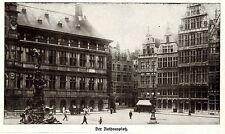 ANTWERPEN * Der Rathausplatz * Bilddokument 1914