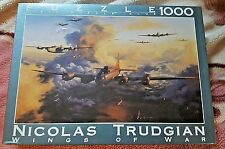 "Wings of War ""Thundering Home"" Jigsaw Puzzle by Nicolas Trudgian 1000 pcs NEW"