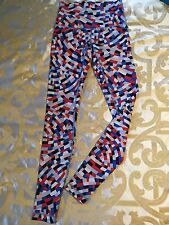 Lululemon Full Length High Rise Wunder Under Capoeira Confetti Size 6