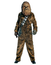 "Star Wars Mens Dlx Chewbacca Costume, Std,CHEST 44"",WAIST 30-34"",INSEAM 33"""