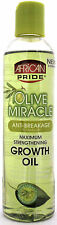 AFRICAN PRIDE OLIVE MIRACLE MAXIMUM STRENGTHENING GROWTH OIL 8 FL. OZ.
