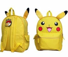 1 pcs, Backpack Pokemon FACE 16'' BP - Pikachu School Bag