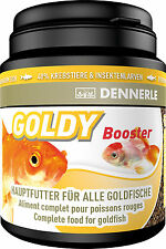 Dennerle premium aliments pour poissons: goldy Booster 200ml pour poissons rouges