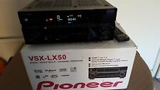 Multi Channel Pioneer VSX-LX50 AV receiver HDMI 7.1 120 x7 watts  remote control