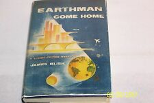 Earthman Come Home by James Blish, G. P. Putnam's, 1955, 1st/1st, hardcover, D/J
