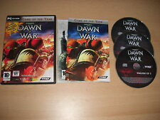 WARHAMMER 40000 DAWN OF WAR Game Of The Year Pc Cd Rom War Hammer GOTY FAST POST