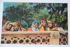 CPA Carte Postale ancienne animée 27 Groupe de Mauresques écrite en 1922