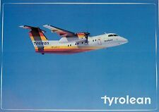 A9483mdt Transport Tyrolean Airlines Dash 8 Aircraft postcard