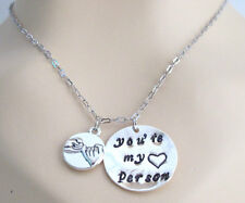 Pinky Promise You are my person Best Friend Sister Gift Grey's Anatomy Necklace