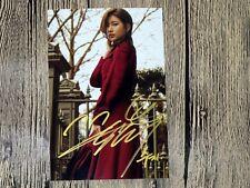 MISS A Suzy Bae Su Ji Autographed signed Photo New Korea 10*15 cm 09.2016 01