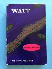 WATT - FIRST HARDCOVER EDITION BY SAMUEL BECKETT