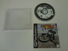 MOTOCROSS MANIA PLAYSTATION 1 PS1 **FREE SHIPPING** DISC AND MANUAL ONLY