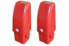 2PCS OF BRAND NEW RED SWIVEL SWEEPER HIGH CAPACITY NiHM RECHARGEABLE BATTERIES