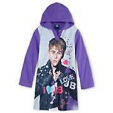 NWT Justin Beiber Licensed Character Hooded Sleep Gown - Girls SZ 10