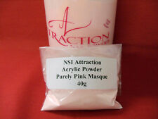 NSI Attraction Acrylic Nail Powder Purely Pink Masque 40g