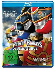 POWER RANGERS - MEGAFORCE - the complete TV series 2 BLU-RAY Box New
