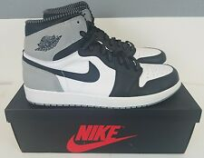 VNDS Nike Air Jordan OG 1 Retro Baron White Black Wolf Grey 3M 555088 104 Sz 13