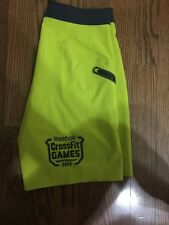 Reebok Crossfit 2015 Games Shorts Limited Edition Mens Free Shipping Size 36""