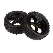 RC 1/10 Off Road Buggy Front Wheel Rim & Tyre,Tires Fit HSP HPI Redcat 06010