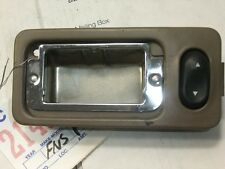 WINDOW SWITCH & ASHTRAY FORD TAURUS 1993 REAR OEM