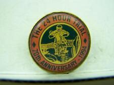 24 Hour Trial 70th Anniversary 1994 Eudunda pin badge Motorcycle Motorbike 1081