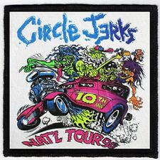 CIRCLE JERKS PATCH / SPEED-THRASH-BLACK-DEATH METAL