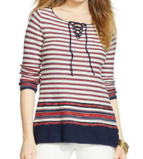 Lauren Ralph Lauren New Striped Sweater Dress Size XL MSRP $130 #G 701/XL