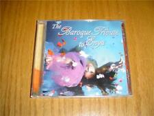 THE BAROQUE TRIBUTE TO ENYA CD Well known Enya songs INSTRUMENTAL NO VOCAL