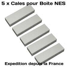 5 x Cale NES pour Boite Nintendo Nes INSERT - Neuf