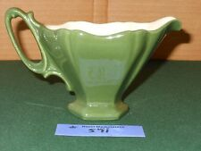 RED WING POTTERY - PLUM BLOSSOM Creamer Green