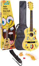 SPONGEBOB SQUAREPANTS JUNIOR CLASSICAL GUITAR PACK with BAG STRAP PICKS STRINGS