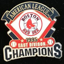 BOSTON RED SOX 1995 AMERICAN LEAGUE CHAMPIONS EAST WILLABEE & WARD  SERIES PIN
