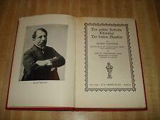 Awesome 1930 Vintage German book - Der Grunekakadu Literatur Die Letzten Masken