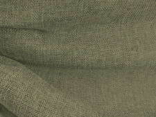 Drapery Fabric Colored Polyester Burlap Tight Weave Anti-Wrinkle - Olive Green
