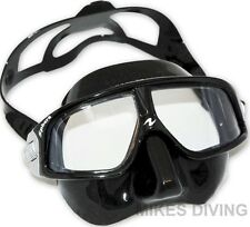 SPHERA MASK BLACK freediving free dive spear fishing aqua lung diving low volume