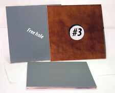 """1 Lens Board 9x 9"""" for ANSCO STUDIO No.5 8x10 Camera, made of Plywwod, free hole"""