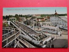 BRUXELLES  :  EXPO de 1910  -  La Plaine des Attractions.