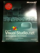Microsoft Visual Studio. Net 2003 Enterprise Architect strettamente con IVA FATTURA