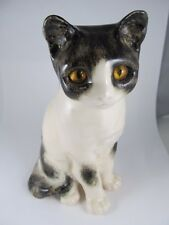 WINSTANLEY CAT KITTEN SITTING SAKS 5TH AVE WELL PAINTED EXCELLENT CONDITION