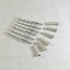 NEW 6pcs Aluminum Arrow Connection Inserts Repair for Broadhead Archery Practice
