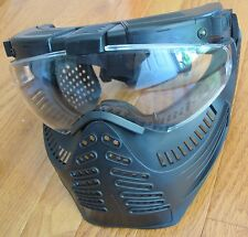 Full Face Protection Mask W/Fog Free Electric Fan & Flashlight Airsoft/Paintball
