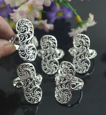 5pcs wholesale Jewelry Fashion 925 silver Mixed size rings for women K328