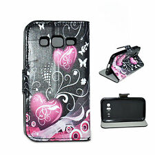 Flip Wallet Stand PU Leather Soft Case Cover For Samsung Galaxy Core Prime G360