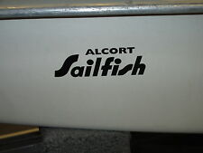 Alcort SAILFISH bow sticker/logo/decal..........like Sunfish