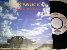 "7"" Jack Bruce (Cream) I feel free - Renault 21 Werbung Cover # 3103"