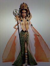 2010 Barbie Doll Cleopatra Mint NRFB Gold Label Designed by Linda Kyaw