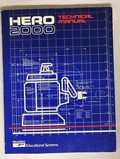 Heathkit Zenith Hero 2000 Robot Technical Manual Model ET-19