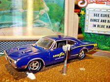 1970 DODGE SUPERBEE R/T 383 LIMITED EDITION 1/64 DARK BLUE M2 GOODYEAR TIRES