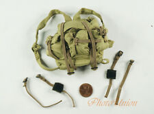 1:6 Scale Action Figure WW2 US Infantry ACU Rangers Frontal Drop Bag DA219+